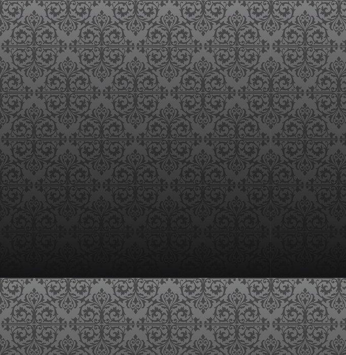 Tapeta Pixerstick Bezešvé Gothic šedé pozadí - Témata