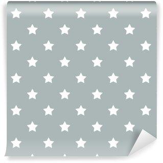 Vinylová Tapeta Bezešvé hvězdy vzor vektor