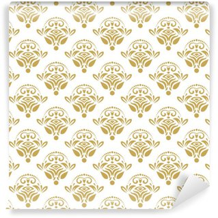Vinylová Tapeta Bezešvé klasické zlaté vzory. tradiční orientální ornament. klasické vinobraní pozadí