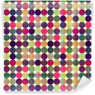 Tapeta Pixerstick Bezešvé kruhy textury na pozadí