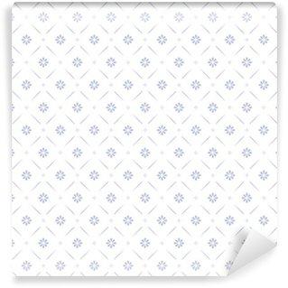 Vinylová Tapeta Bezešvé květinový vzor