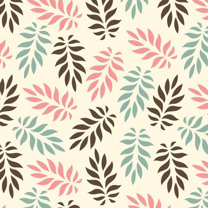 Tapeta Pixerstick Bezešvé květinový vzor - Pozadí