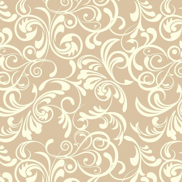 Tapeta Pixerstick Bezešvé květinový vzor - Móda
