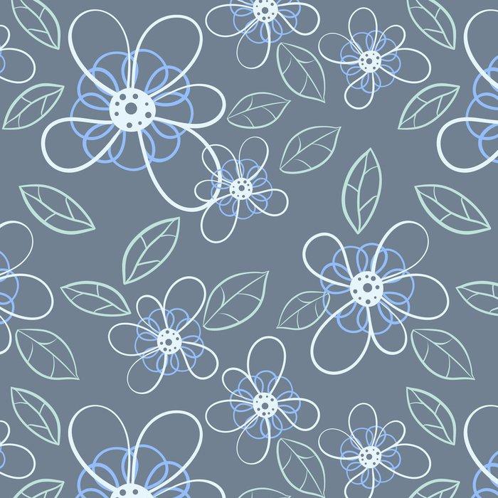 Tapeta Pixerstick Bezešvé květiny - Pozadí