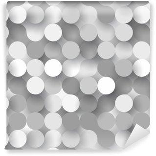 Vinylová Tapeta Bezešvé ploché kruhy