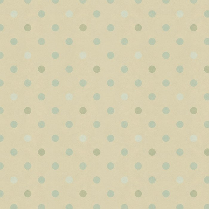 Tapeta Pixerstick Bezešvé puntíky vzor na vinobraní papír textury - Témata