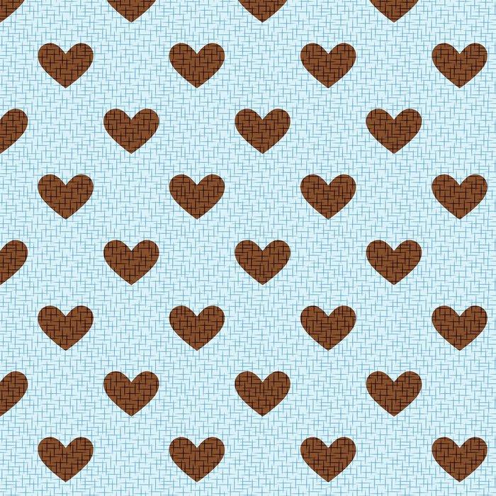 Vinylová Tapeta Bezešvé srdce textury - Pozadí