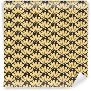 Vinylová Tapeta Bezešvé starožitné palety orientální vektor květinový vzor