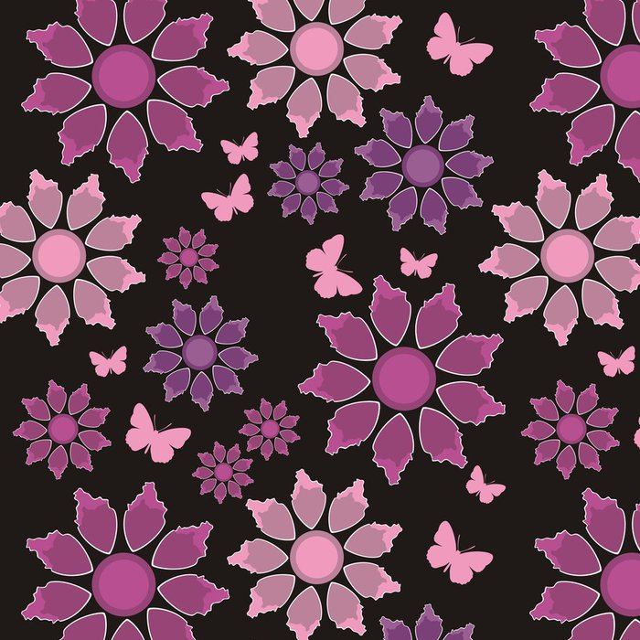 Tapeta Pixerstick Bezešvé textury 410 - Pozadí