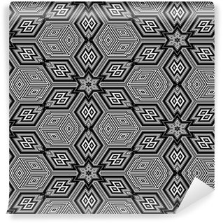 Tapeta Pixerstick Bezešvé textury s 3d geometrických obrazců