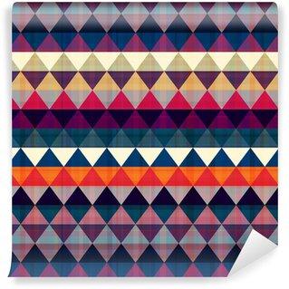 Vinylová Tapeta Bezešvé trojúhelník na pozadí