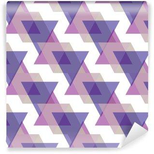 Vinylová Tapeta Bezešvé trojúhelník vzor pozadí geometrické abstraktní textury