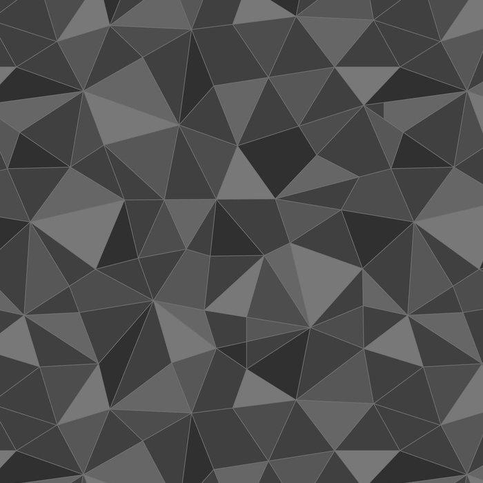 Vinylová Tapeta Bezešvé trojúhelníky texturu, abstraktní ilustrace - Umění a tvorba