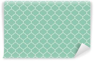 Vinylová Tapeta Bezešvé tyrkysová široká maročtí pattern vector