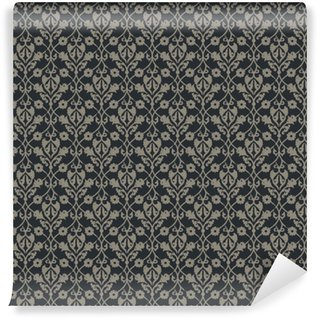 Vinylová Tapeta Bezešvé vektor elegantní královské vintage květinovým vzorem. design obalů, obalů, textilu, tapet