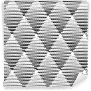 Vinylová Tapeta Bezešvé vzor diamanty.