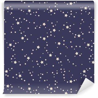 Vinylová Tapeta Bezešvé vzor hvězdy