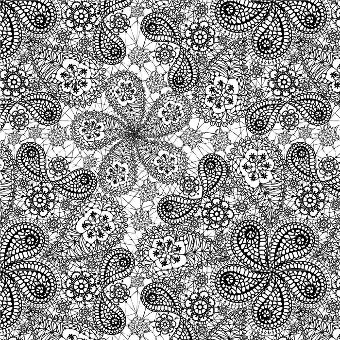 Vinylová Tapeta Bezešvé vzor s sněhové vločky a okurek - Finance