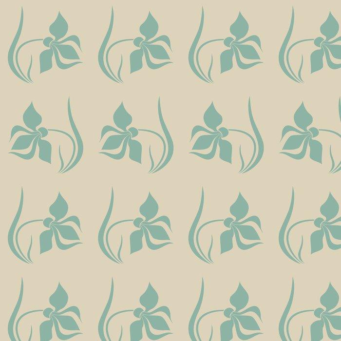 Tapeta Pixerstick Bezešvé vzor s Tulipán - Pozadí