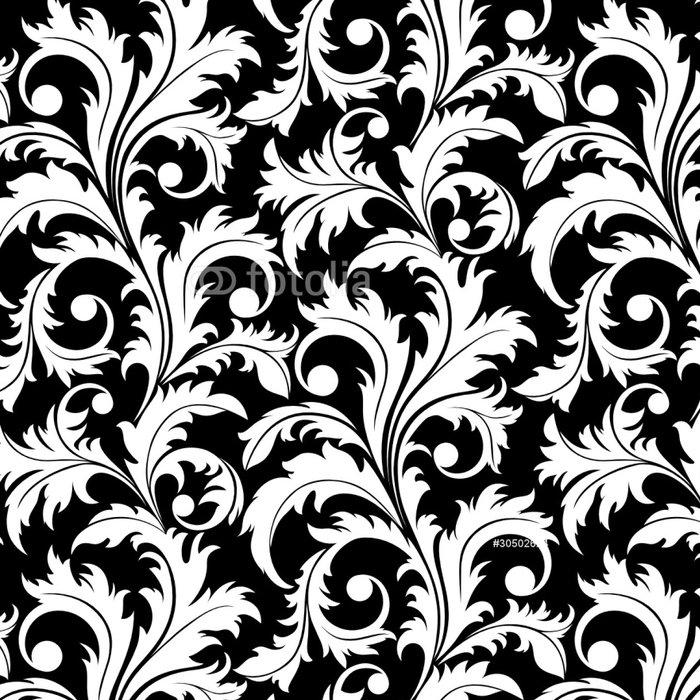 Tapeta Pixerstick Bezešvé z abstraktní black závod - Struktury