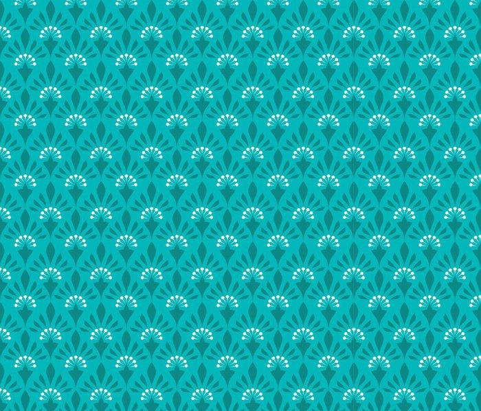 Tapeta Pixerstick Bezproblémově květinovým vzorem - Pozadí