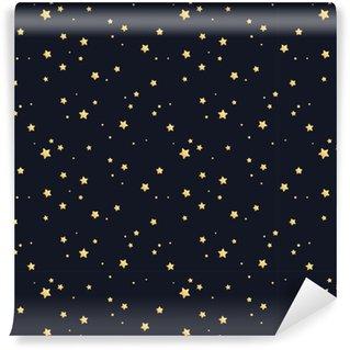 Vinylová Tapeta Bezproblémový hvězdný vzor