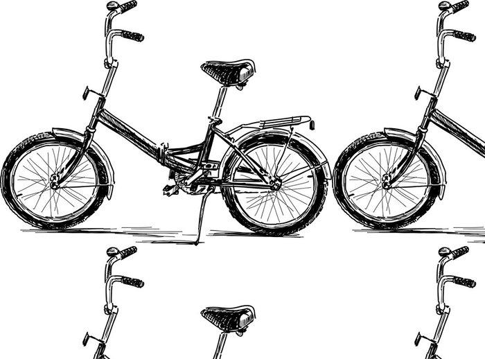 Vinylová Tapeta Bicykl - Individuální sporty