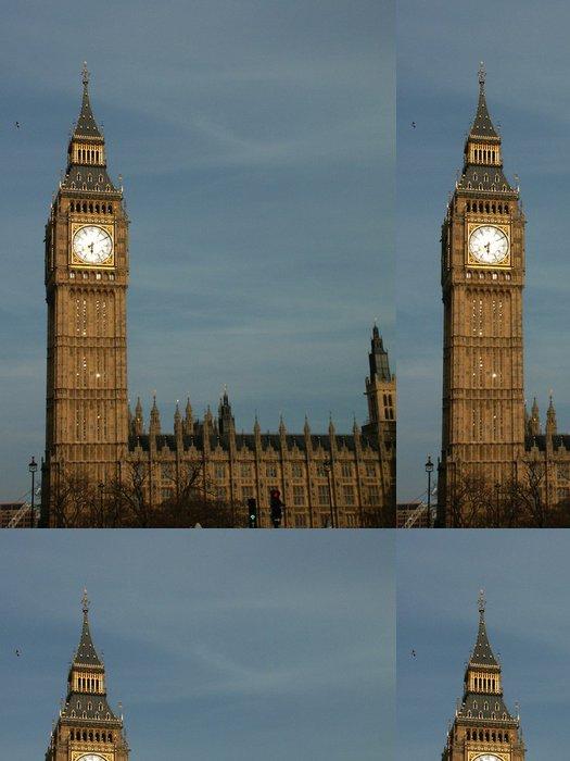 Tapeta Pixerstick Big Ben al tramonto - Evropská města
