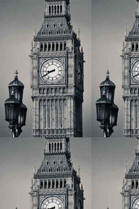 Tapeta Pixerstick Big Ben detailní - Stavby a architektura