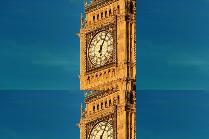 Tapeta Pixerstick Big Ben detailní - Jiné