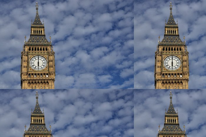 Tapeta Pixerstick Big Ben - pozadí oblohy - Památky
