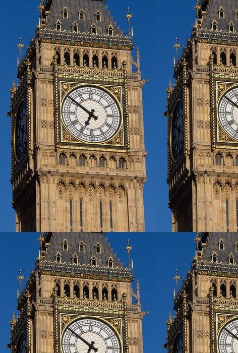 Tapeta Pixerstick Big Ben v pozdních večerních hodinách - Dial - Evropská města