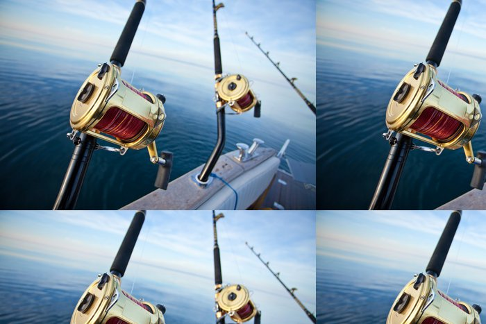 Tapeta Pixerstick Big game fishing - Outdoorové sporty