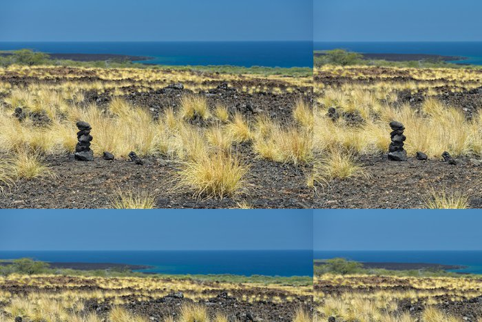 Vinylová Tapeta Big Island láva pobřeží - Voda