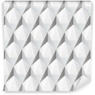 Tapeta Pixerstick Bílá 3d abstraktní bezešvé textury