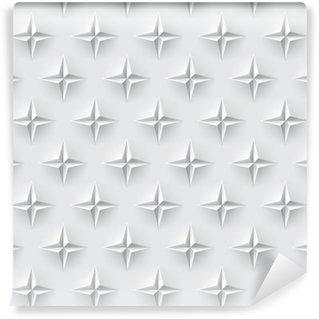 Vinylová Tapeta Bílá 3d bezešvé textury