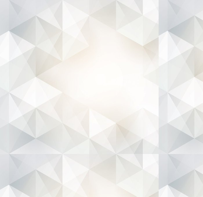 Tapeta Pixerstick Bílé geometrie vektor pozadí. - Pozadí