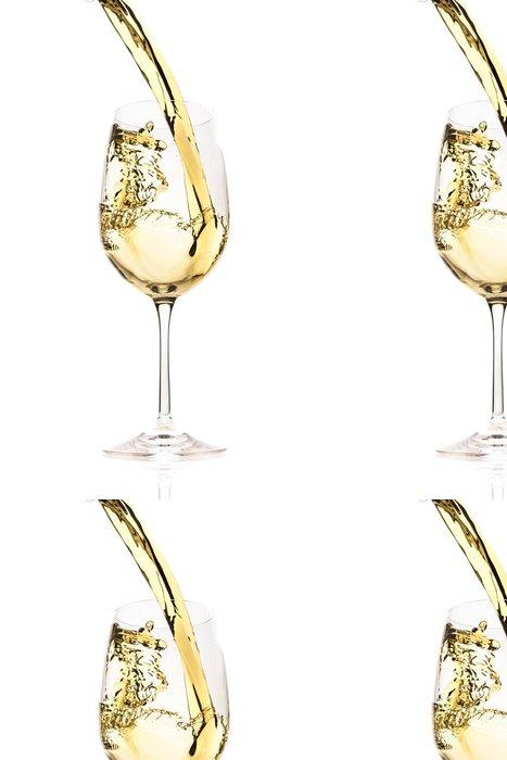 Tapeta Pixerstick Bílé víno stříkající - Témata