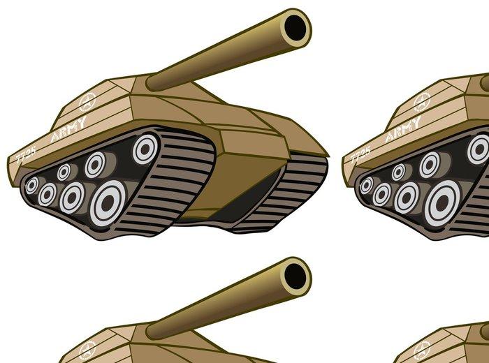 Tapeta Pixerstick Bitevní tank - Amerika