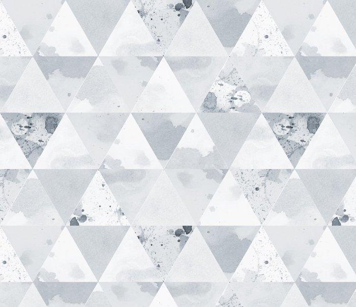 Tapeta Pixerstick Black and White Pattern - Grafika