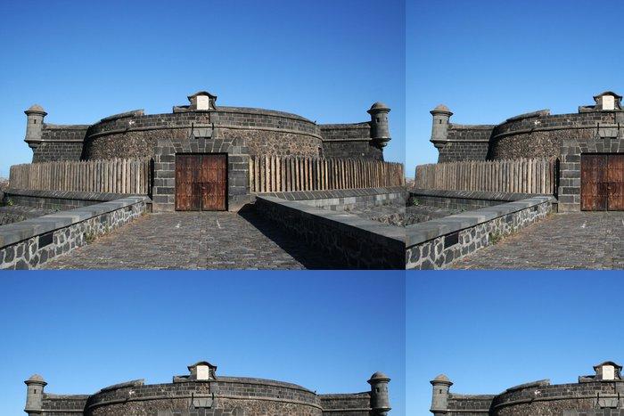Tapeta Pixerstick BLACK FORTRESS CASTLE. SANTA CRUZ DE TENERIFE - Památky
