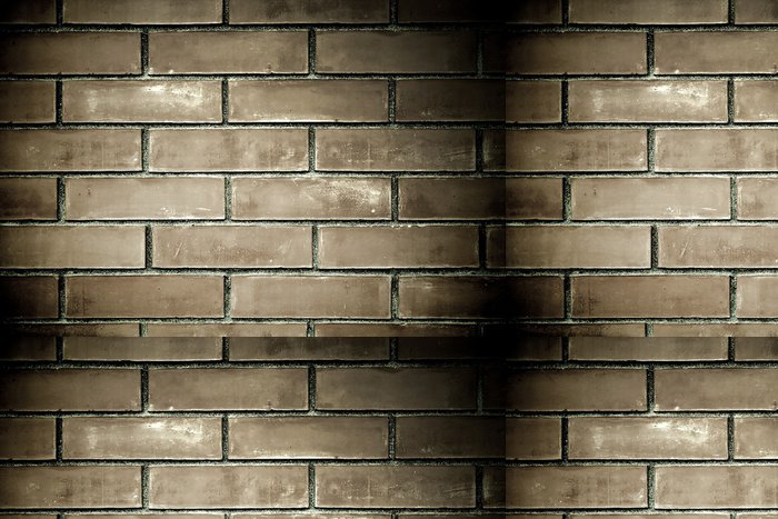 Tapeta Pixerstick Black grunge cihlové zdi textury - Těžký průmysl