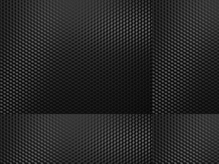 Tapeta Pixerstick Black metal background - Struktury