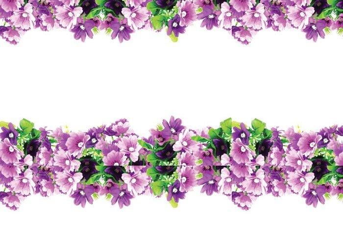 Tapeta Pixerstick Blahopřání s růžemi akvarel pozvánce - Květiny
