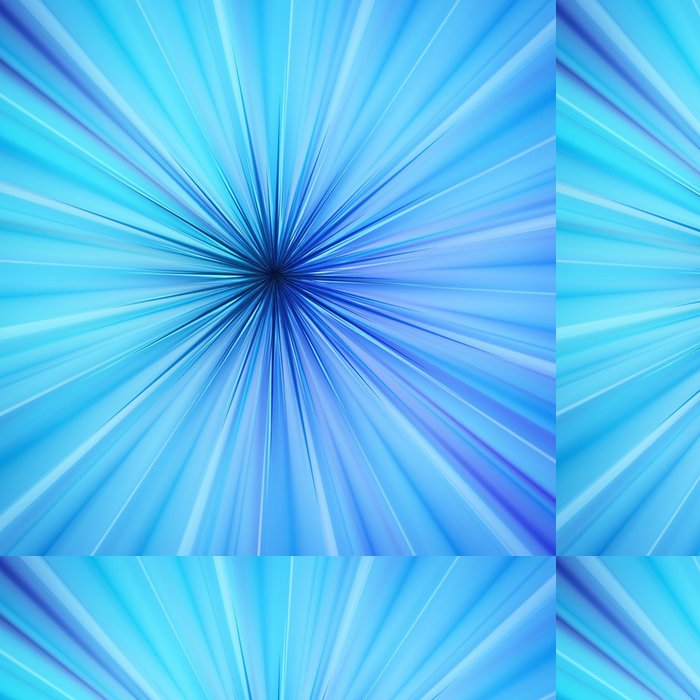 Tapeta Pixerstick Blue Light Source - Mezinárodní svátky