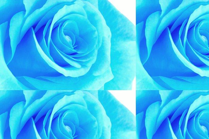 Tapeta Pixerstick Blue neon rose - Květiny
