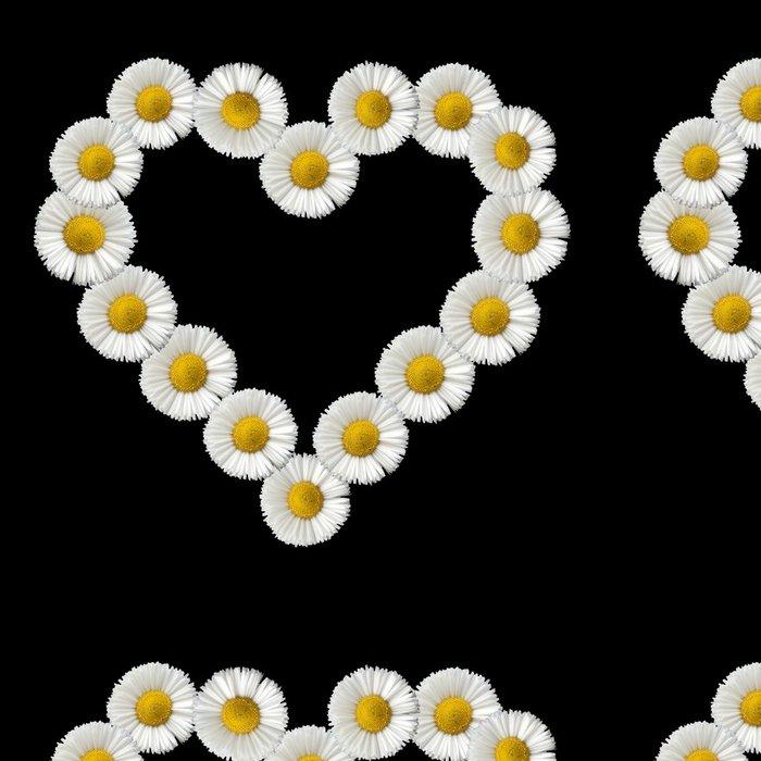Tapeta Pixerstick Blumenherz Gaensebluemchen - Květiny