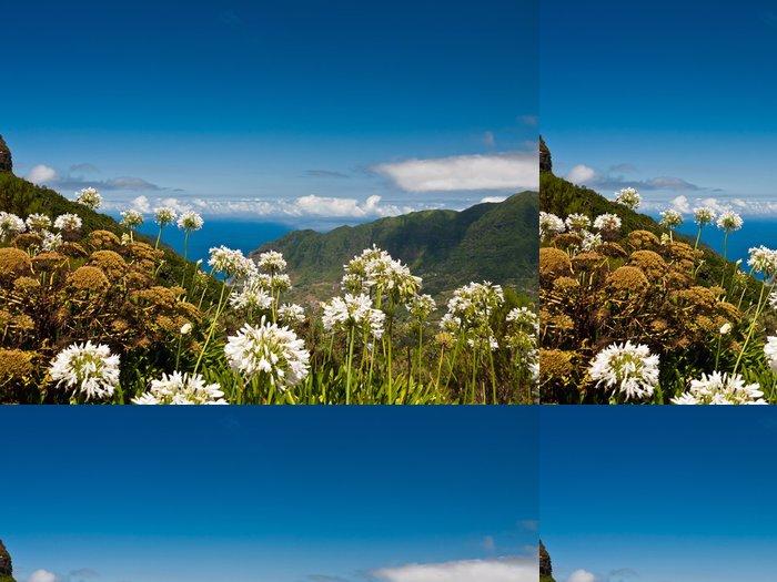 Tapeta Pixerstick Blumeninsel Madeira - Prázdniny