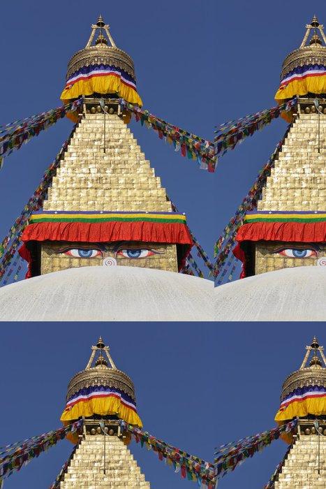 Tapeta Pixerstick Bodhnath stupa v Kathmandu, Nepál. - Asie