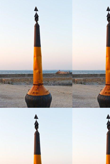 Vinylová Tapeta Bóje na pláži atlantického oceánu v Piriac-sur-Mer města - Evropa